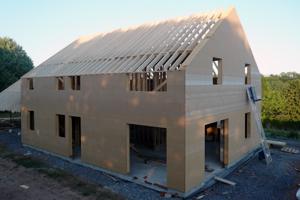 Constructeur maison ossature bois belge for Autoconstruction maison prix